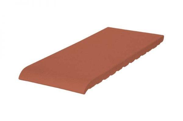 Клинкерный подоконник (01 Рубиновый красный) 150х120х15