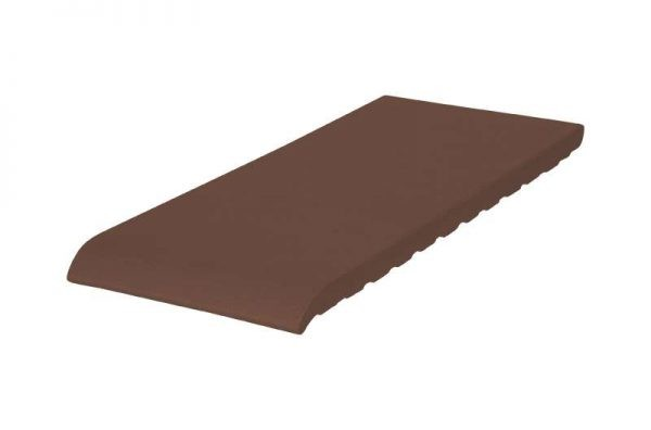 Клинкерный подоконник (03 Натуральный коричневый) 150х120х15